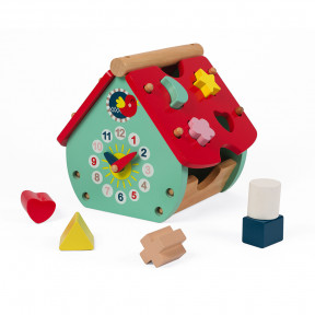 Baby Forest House Shape Sorter (wood)