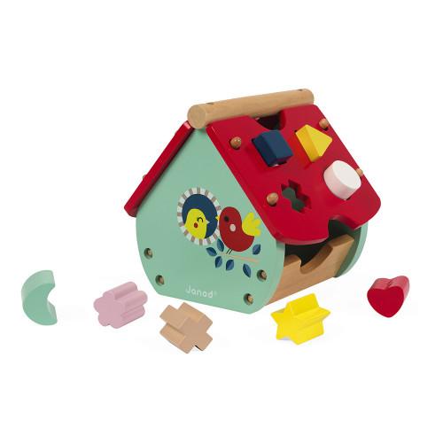 Maison à formes Baby Forest (bois)