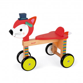 Baby Forest Fox Ride On (wood)