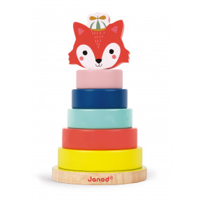 Baby Forest Fox Stacker (wood)