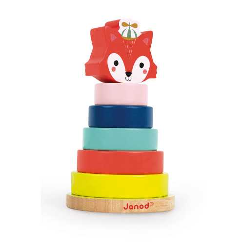 Empilable Renard Baby Forest (bois)