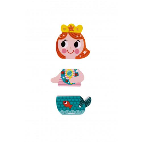 Funny Magnets - Princesses (bois)