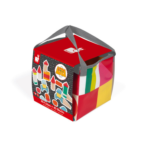 Kubix - 40 cubes en bois