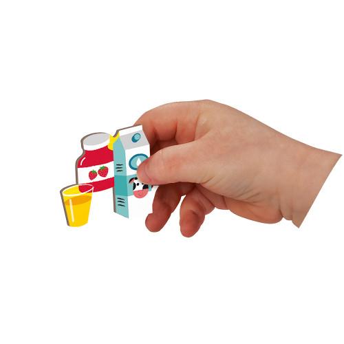 Magnéti'book j'apprends l'heure, 75 magnets, magnétique, aimants, éducatif, horloge, pour enfant à partir de 3 ans JANOD