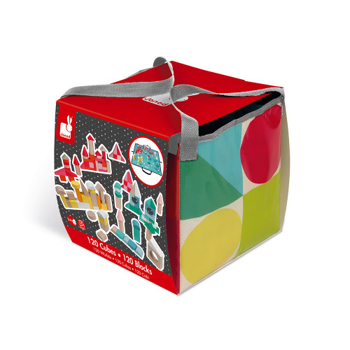 Kubix - 120 cubes en bois