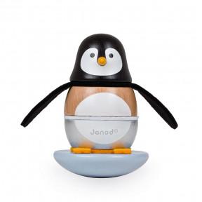 Culbuto Pingouin Zigolos (bois)