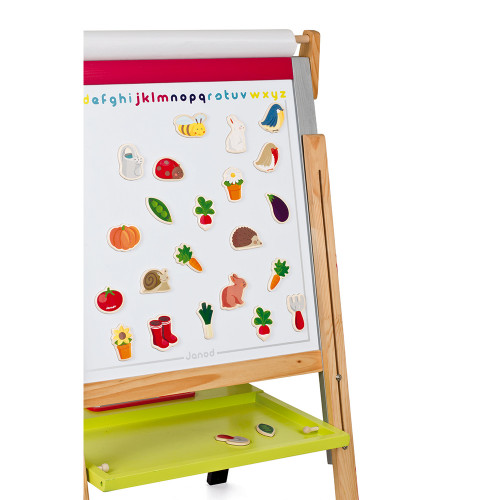 Magnets 24 pcs - Jardin (bois)