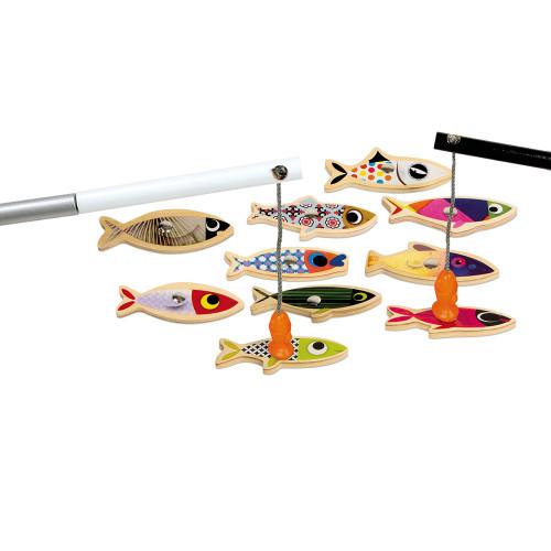 Pêche à la ligne Sardine (bois)