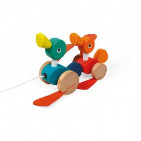 Zigolos Pull-Along Ducks (wood)
