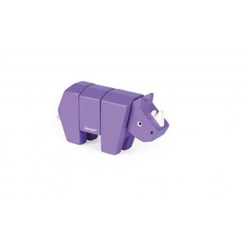 Animal Kit - Rhino (bois)