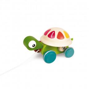 Zigolos Pull Along Turtle (wood)