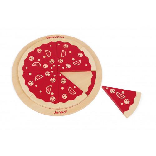 Jeu de société 123 Pizza (bois)