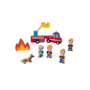 Mini Story Pompiers (bois)