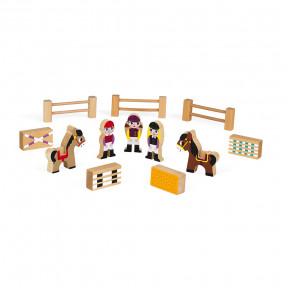 Mini Story Centre équestre (bois)