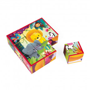 Kubkid 9 Blocks Jungle Animals