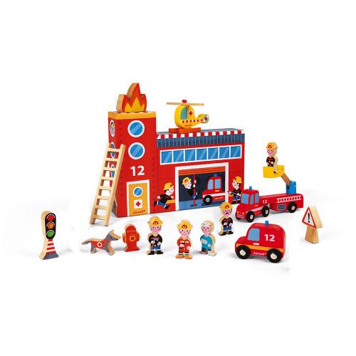 Story Box Pompiers (bois)