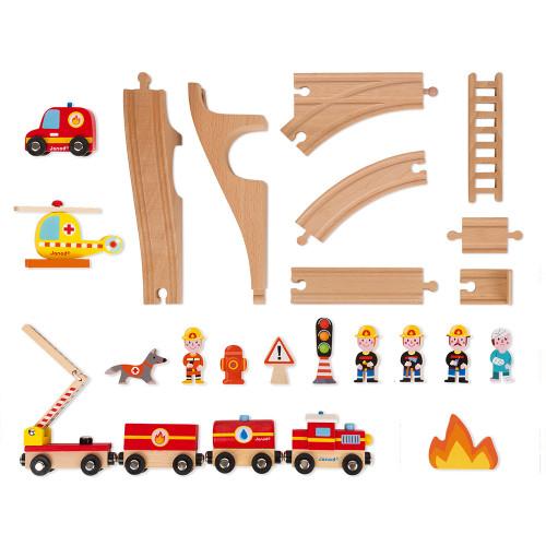 Story Express Pompiers (bois)
