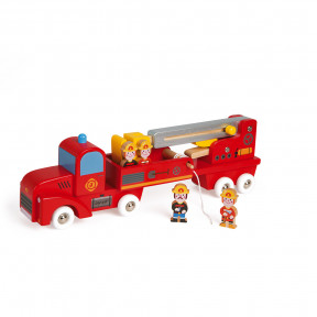 Story Camion dei Pompieri Gigante (legno)