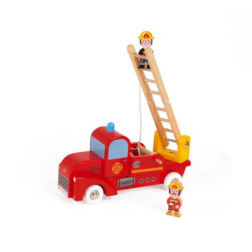 Story - Camion de Pompiers (bois)