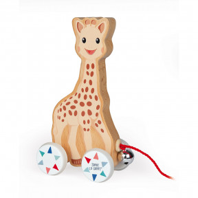 Sophie la Girafe Pull-Along Toy (wood)