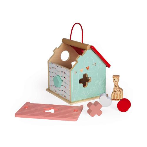 Maison des Formes Sophie la girafe (bois)