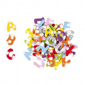 Malette 52 lettres magnétiques Splash (bois)