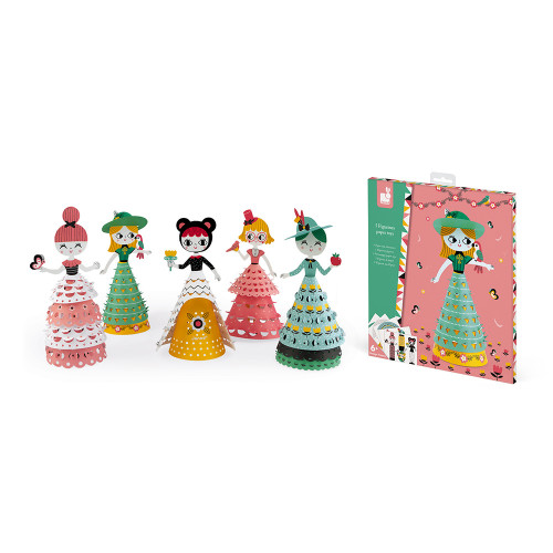 Figurines Paper Toys Jolies poupées