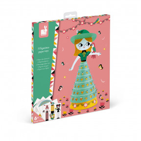 Cute Dolls Paper Toys Characters