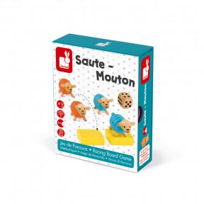 Juego de Recorrido Saute-Mouton (madera)