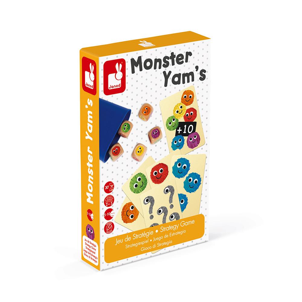 Monster Yam's (bois et carton)
