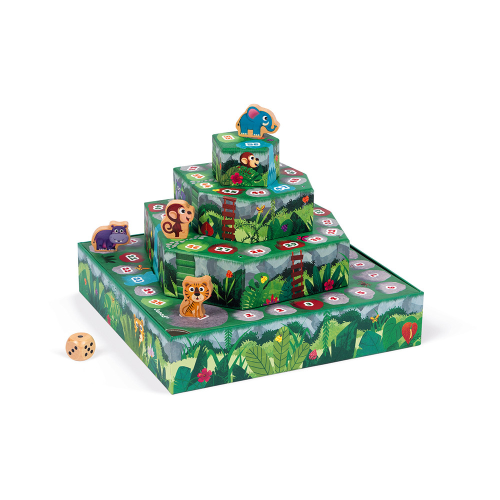 Jungle! Janod Racing Board Game