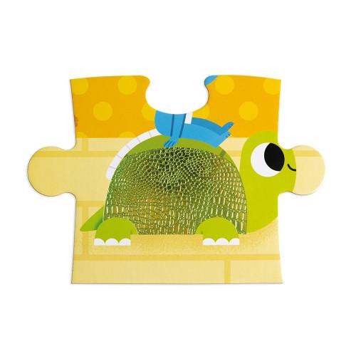 Puzzle Tactile Les Animaux Domestiques 20 pcs