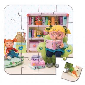 Valisette 4 puzzles Lisa Maîtresse