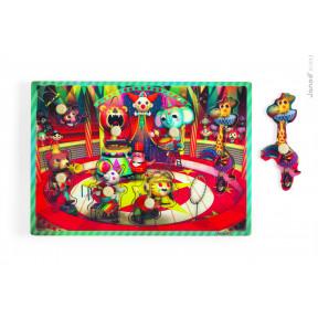Puzzle Musical Le Cirque Zapatta 7 pcs (bois)