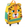 Bolsa Escolar con Ruedas Diseño Tigre