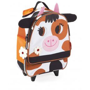 Valise à Roulettes Vache