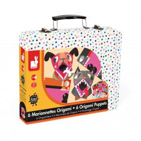 Kreativ-Koffer Für Papier-Handpuppen Origami Tiere