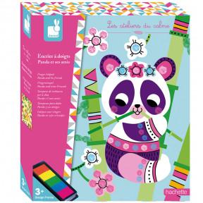 Tinta Para Dedos Panda y Sus Amigos