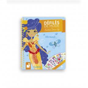 Stickerbuch Meerjungfrauen