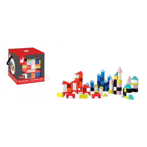 Kubix - 100 cubes (bois)