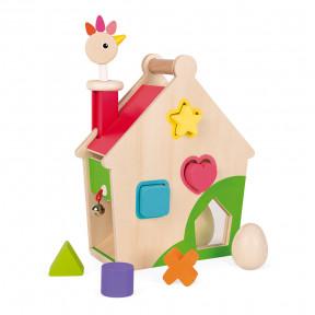 Maison d'activités Poulette Zigolos (bois)