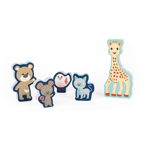 Chunky Puzzle Sophie la girafe (5 pièces)