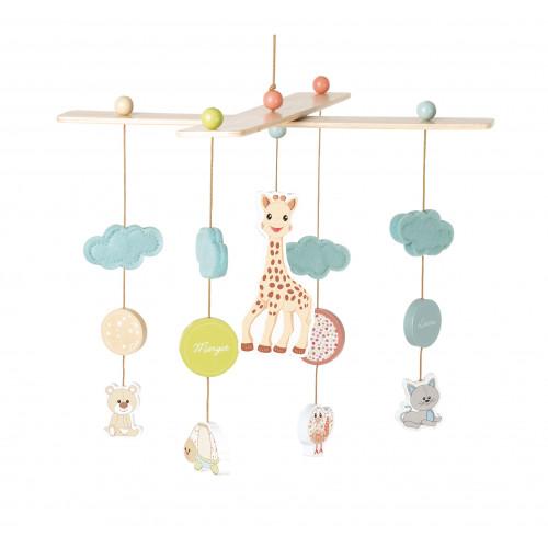 Mobile Sophie La Girafe (bois)