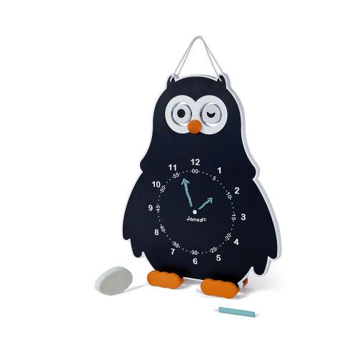 Horloge Chouette (bois)