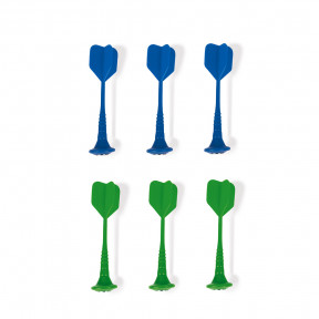 6 Magnetic Darts (Green And Blue)