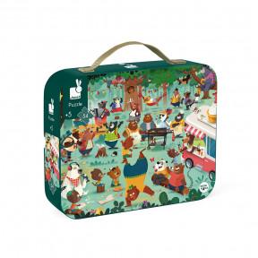 """Puzzle """"Bärfamilie"""" im Koffer"""