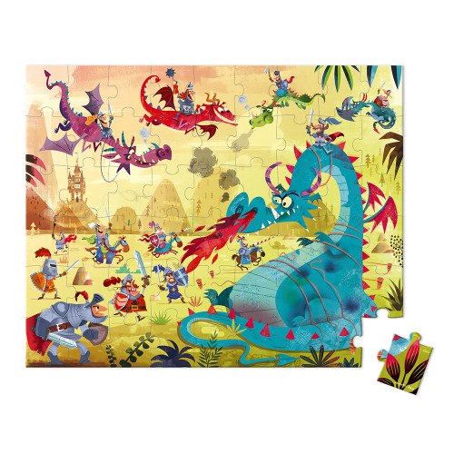 Valisette Puzzle Dragons 54 pcs