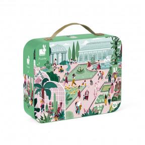 """Puzzle """"Botanischer Garten"""" im Koffer"""
