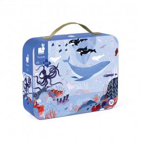 """Puzzle"""" Arktischer Ozean""""  im Koffer"""