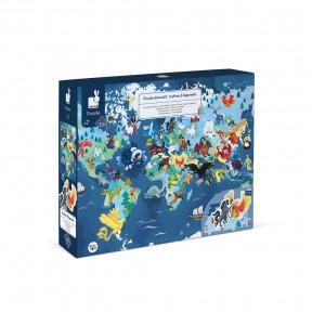 Puzzle éducatif géant Mythes et Légendes 350 pcs